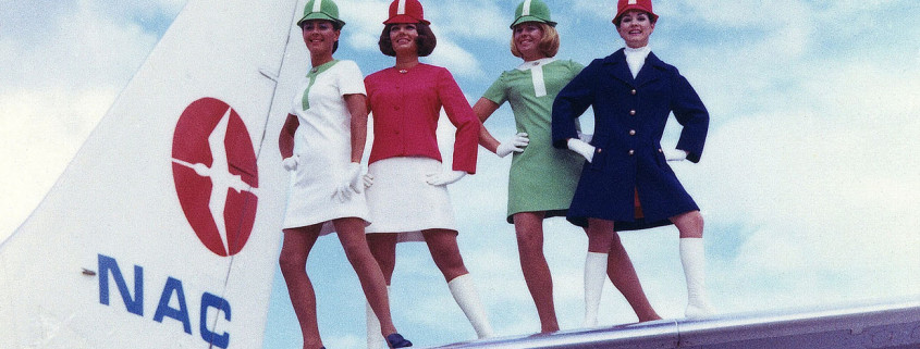 1970s air hostess