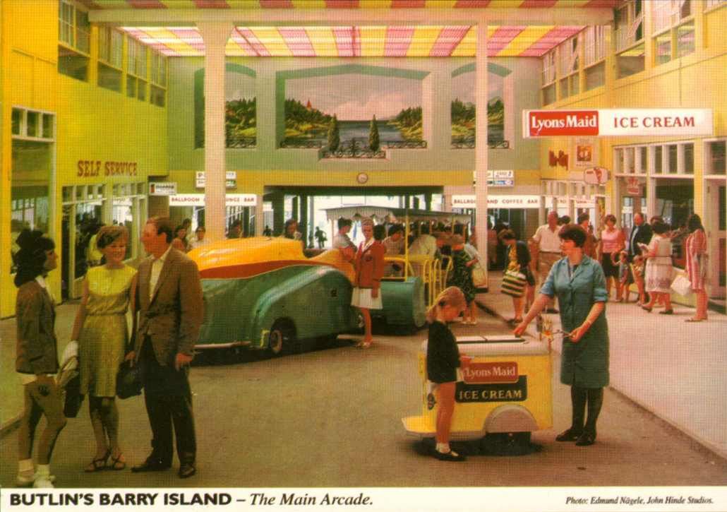 Butlins-postcards