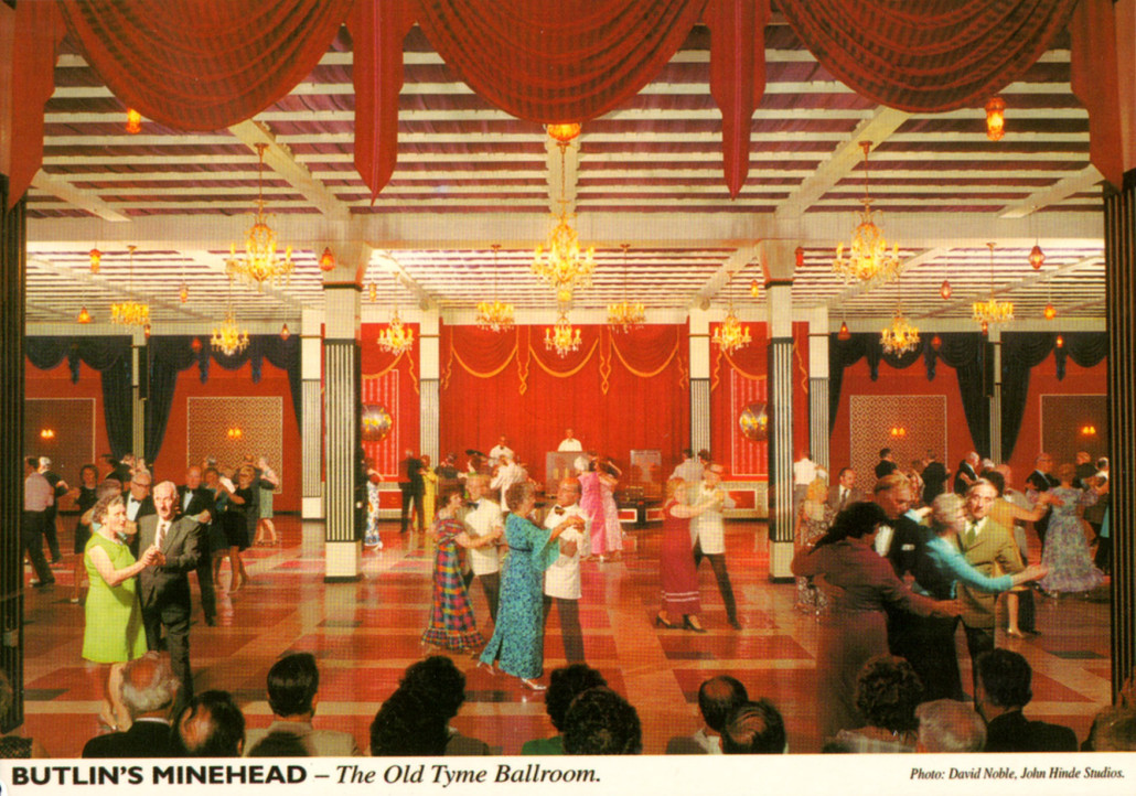 Butlins-Minehead-The-Old-Tyme-Ballroom-postcard