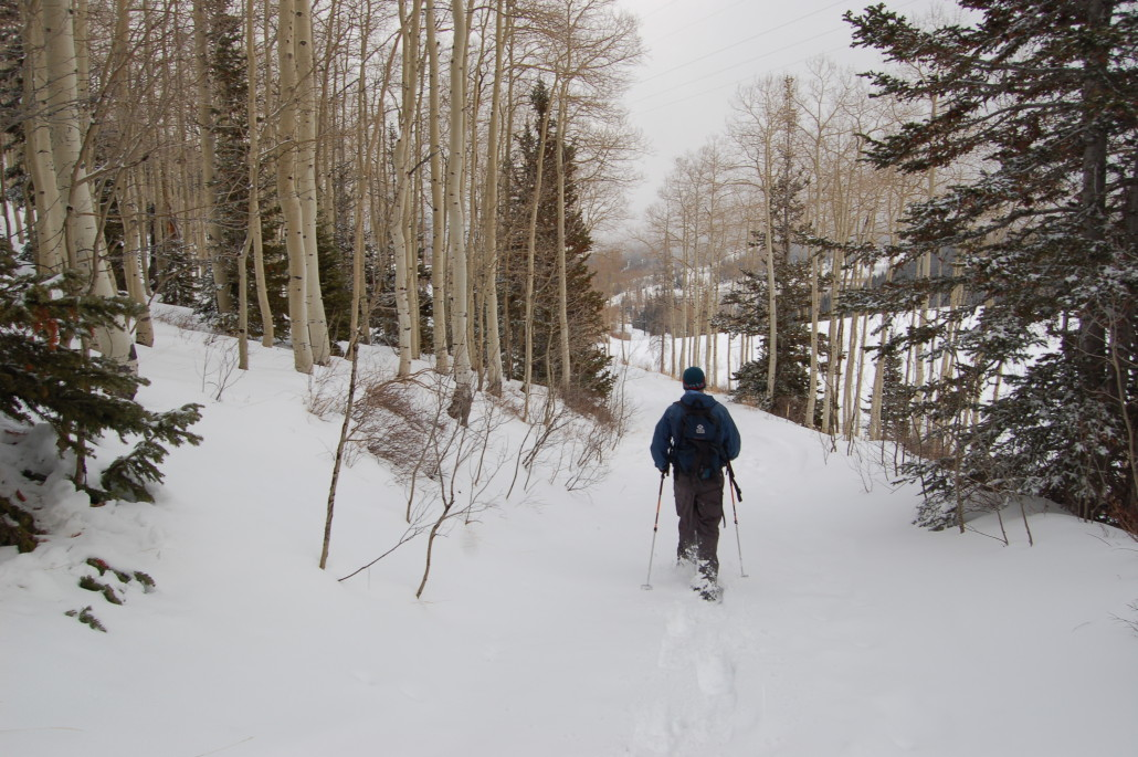 snowshoeing-deer-valley-utah