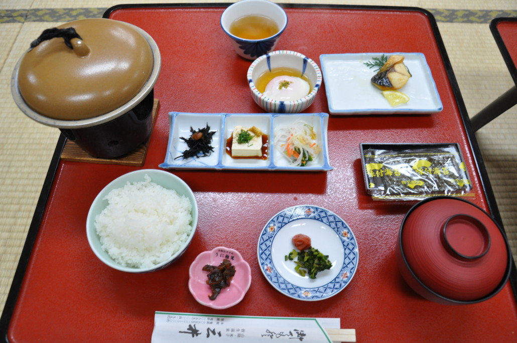 ryokan-breakfast
