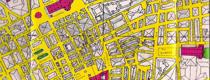 old florence city map
